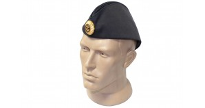 Soviet Russian Naval Officer's black hat Pilotka