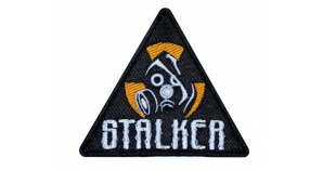 Gas Mask S.T.A.L.K.E.R Airsoft Game Embroidered Patch #1