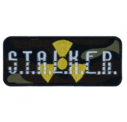 S.T.A.L.K.E.R. Airsoft Game Strip bordado parche V2 # 11