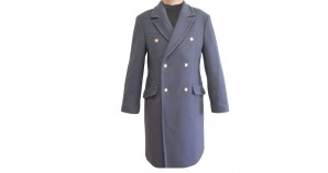 Russian army woolen gray overcoat for high rank officers