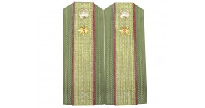 Sergeant-major of Soviet Army demobee shoulder boards