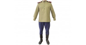 Soviet / Russian NKVD M35 border guard uniform WW2