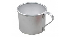 Russian / Soviet Army aluminum cup for open fire