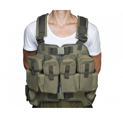 "Russian combat Vest for the submachine gunner ""TURTLE"""