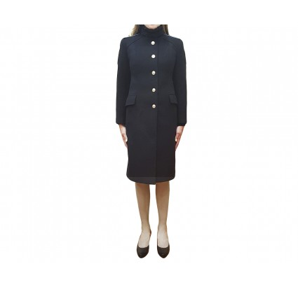 Russian Officers winter FEMALE overcoat with the staff uniform