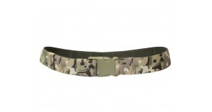 Russian Army modern camo military belt with fastex clip