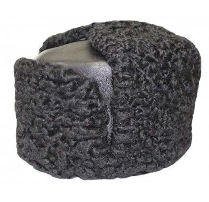 Leder Ushanka russischen Armee Naval Fleet Winter Hut