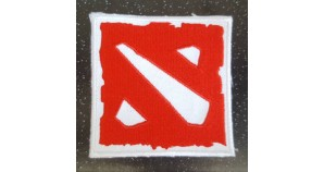 DOTA 2 embroidered patch best moba game