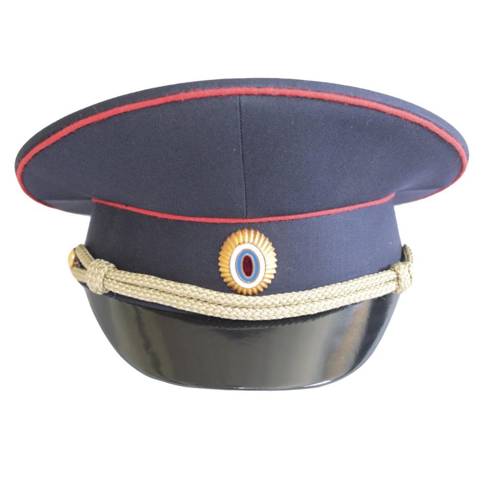 Soviet Russian USSR Badge Police Militsiya MVD Uniform Visor Hat Peaked Cap