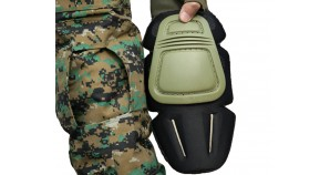 Military Uniform Combat Pants with Knee Protection Pads