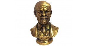 Soviet bronze bust of Austrian psychiatrist and neurologist Sigmund Freud