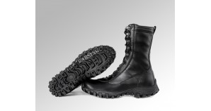 "Russian tactical boots GARSING 2110 ""BLACK WOLF FLEECE"""