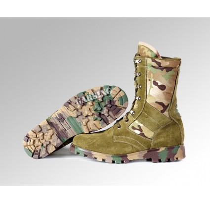 "Russian tactical boots army GARSING 0108 MO ""LUX CAMO"""