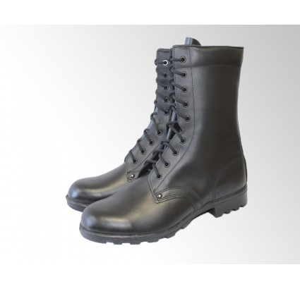 Soviet / Russian statutory high ankle chrome classic leather army boots demi-season