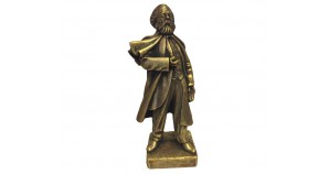 Bronze bust of German  philosopher Karl Marx
