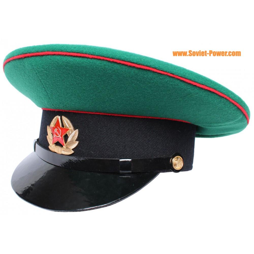 824d961a2 USSR Army Border Guards Sergeant visor cap