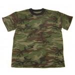 ロシア軍緑の迷彩Tシャツ迷彩