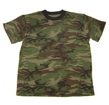 Esercito russo CAMO maglietta verde mimetico militare