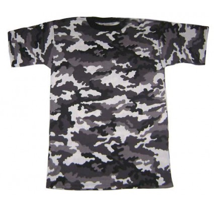 Russian Army SPETSNAZ Gray CAMO T-Shirt
