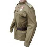Russische Armee-Jacke GIMNASTERKA Art WWII