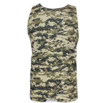 Tattico camo grigia digitale camicia senza maniche militare