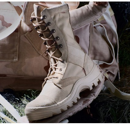 High ankle boots SAHARA desert leather tactical footwear