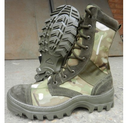 Camouflage ankle boots Rush Multicam for special forces