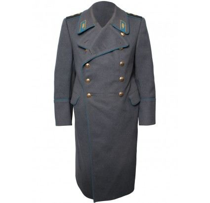 Russian Air Force Generals gray parade overcoat