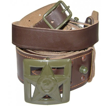 Russian Army Generals field leather belt