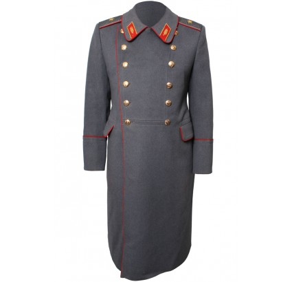 Infantry Generals parade gray overcoat from Russian Army