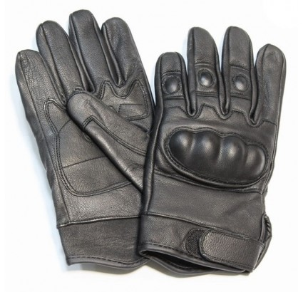 Sport / tactical leather fist gloves model with Knuckles
