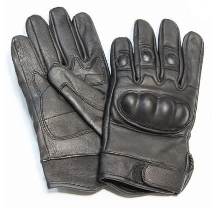 Sport / tactique cuir fist gants modèle avec des articulations