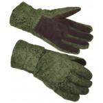 Ejército ruso pixel tactical invierno guantes flora digital