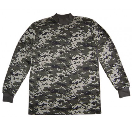 Ukraine Digital PIXEL military style sweater golf