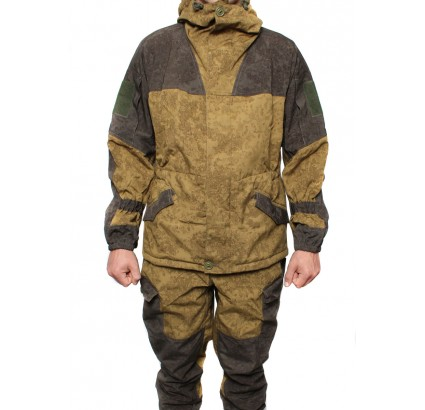 Gorka 3 fleece suit Spectre camouflage tactical uniform Code