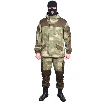 Gorka 3 A-TACS polar uniforme ruso moderno de invierno