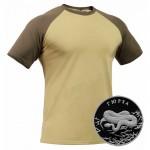 """ロシアの戦術的解剖カーキTシャツ """"GYURZA"""" - GORKA X"""