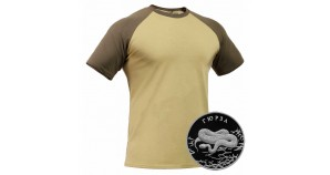 "Russian tactical anatomical khaki T-shirt ""GIURZ"" – GORKA X"
