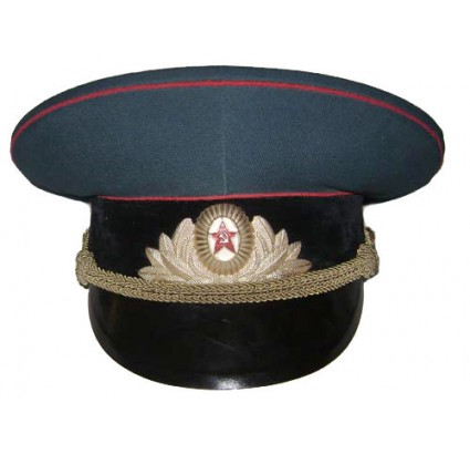 Tank Troops and Artillery Officers Russian visor hat