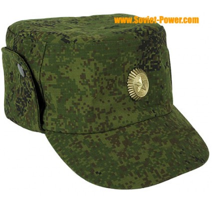 Camouflage Russian hat digital demi-season pixel cap
