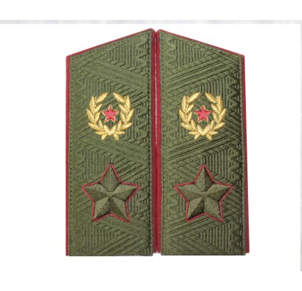 Soviet Army GENERAL daily overcoat shoulder boards since 1974 epaulets