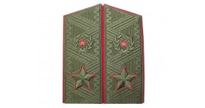 Soviet Army GENERAL field overcoat shoulder boards since 1974 epaulets