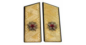 Soviet PARADE shoulder boards for ADMIRAL uniform epaulets