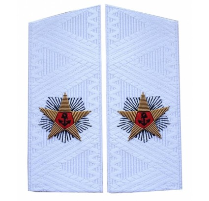 Soviet ADMIRAL daily uniform shoulder boards USSR epaulets