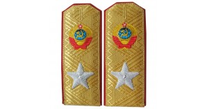 Soviet MARSHAL embroidery PARADE shoulder boards M43 epaulets