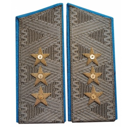 Soviet airforce GENERAL shoulder boards Army epaulets
