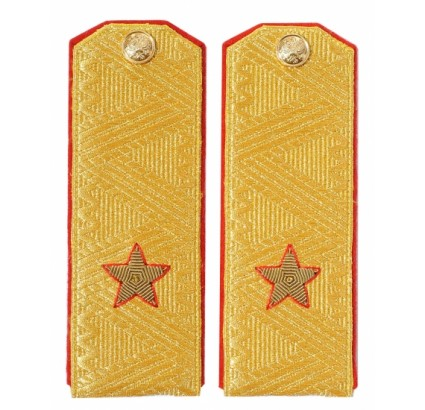 Soviet GENERAL PARADE shirt shoulder boards Army epaulets