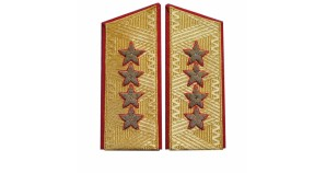 Soviet GENERAL PARADE shoulder boards Army epaulets till 1974