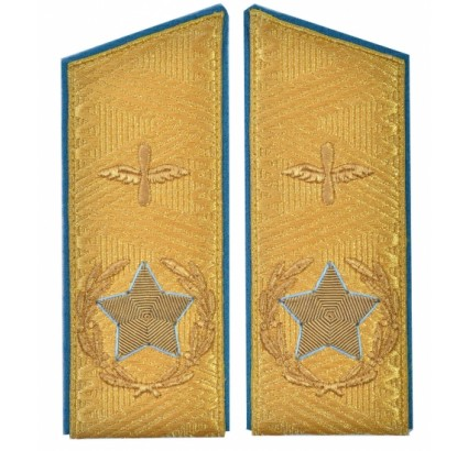 Soviet main marshal's airforce USSR uniform PARADE shoulder boards