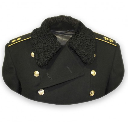 Russian Navy high rank North Fleet winter Great Coat
